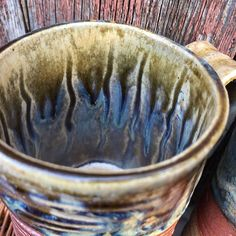 """Clay'nWoodCrafts on Instagram: """"Another cold day here in Edmonton after a very mild winter. The slur of the glazes and ashes give me a feeling of warmth. It takes me back…"""" Give It To Me, Take That, Cold Day, Glaze, Ash, Ceramics, Winter, Instagram, Enamel"""