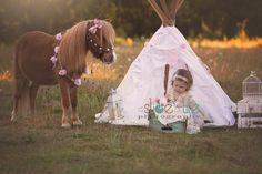 Tea party with pony Princess pony tea party A Slice of Life Photography