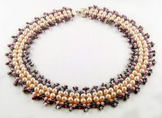 Best Seed Bead Jewelry  2017  Free pattern for necklace Anetta