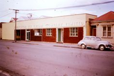 1960 Perfection Icecream factory Christchurch New Zealand, Icecream, Garage Doors, Outdoor Decor, Home Decor, Ice Cream, Decoration Home, Room Decor, Home Interior Design