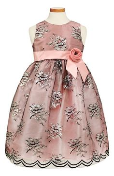 Sorbet Lace & Taffeta Dress (Toddler Girls, Little Girls & Big Girls) available at #Nordstrom