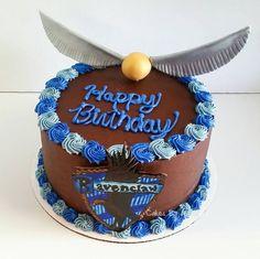 Ravenclaw Harry Potter Cake by Cakes By Jenna