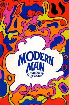 Modern Man mail order catalogue, 47a Carnaby Street,London W.1. (1967)