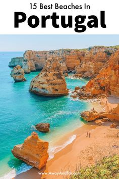 One thing that always seems to strike a chord with many visitors to Portugal is how absolutely spectacular the beaches are. While many visitors will flock Best Beaches In Portugal, Portugal Vacation, Portugal Travel Guide, Visit Portugal, Disney Springs, Algarve, Beach Photography Friends, Travel Photography, Lakes