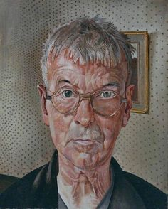 Self-Portrait Stanley Spencer 1959. Stanley Spencer has painted himself in a very natural and true way, detailing every wrinkle and his vacant expression, showing his physical condition and age.I like how he is looking straight forward as if he is looking in a mirror. I like the style and colours in this piece and they are something I could try in my work.