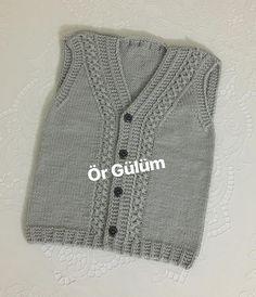 Hayırlı akşamlar🌸#örgülüm#örmeyiseviyorum#10marifet #nakoileörüyorum #kinitting #handmade #hobby #baby#babyshower #örgümodelleri #elemeği #göznuru #erkekbebek #bebekhazırlıkları #bebekhediyesi #bebekçeyizi Chanel Jacket, Teen Kids, Royal Brides, Baby Vest, Vest Pattern, Knit Vest, Knitting For Kids, Sweater Design, Crochet Baby