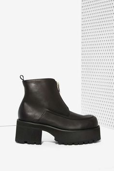 UNIF Alec Leather Boot - Heels | Unif | Shoes | Newly Added |  | Boots
