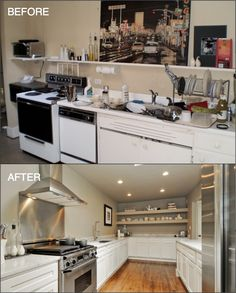 #Kitchen before and after remodel! #realestate #forsale #chicago #home