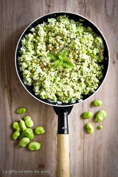 couscous with fave bean pesto, fennel, walnuts and mint