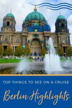 If you are cruising to Germany and plan to head to Berlin, we give you our list of the Top Things to See on a Berlin Highlights Tour. #cruise #thingstodo #europe #berlin #europetravel Bermuda Vacations, Bahamas Vacation, Cruise Vacation, Cruise Excursions, Cruise Destinations, Pergamon Museum, Book Burning, Cruise Ship Reviews, Museum Island