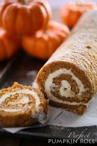 Perfect Pumpkin Roll | Chef in Training