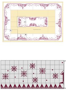 Cross Stitch Letters, Cross Stitch Baby, Cross Stitch Charts, Christmas Feeling, Christmas Cross, Diy Christmas Ornaments, Towel Embroidery, Cross Stitch Embroidery, Bead Loom Patterns