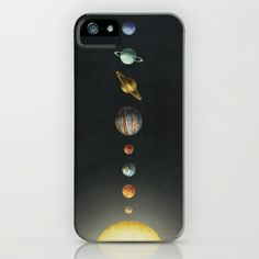 Solar System  iPhone & iPod Case by Terry Fan - $35.00
