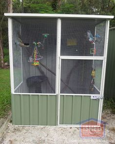 We love our Aussie Sheds Aviaries & so do our birds! We purchased our first aviary from Cheap Sheds in just two weeks before our wedding. We were pleasantly surprised when an early wedding Farmhouse Sheds, Cheap Sheds, Build Your Own Shed, Bird House Kits, Bird Aviary, Easy Coffee, Barns Sheds, Diy Shed, Building A Shed
