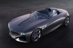 Concept car by BMW- Connected Drive Vision.