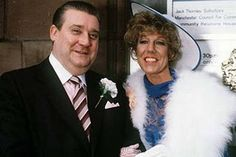 Coronation Street's Alf Robert and Audrey Potter get married in 1985 - The Independent