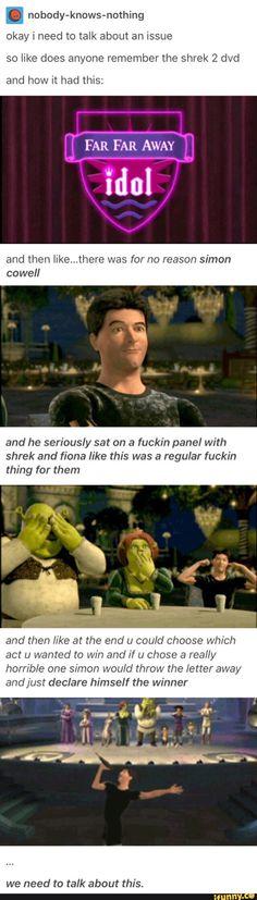 Lol, I used I miss my Shrek 2 dvd Memes Shrek, Shrek 2, Dc Memes, Funny Quotes, Funny Memes, Hilarious, Silly Jokes, Lol, My Guy