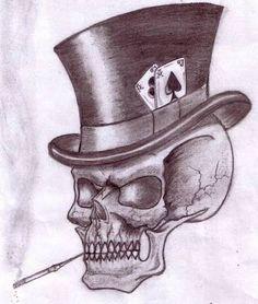 b17d02081f Resultado de imagem para tattoo skulls smoke Calavera Tattoo