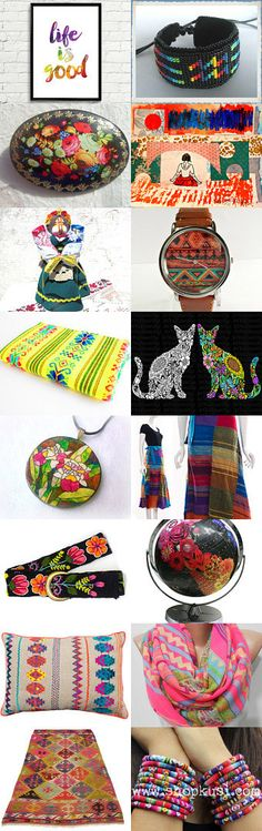 Life Is Good by Olga C on Etsy--Pinned with TreasuryPin.com #Etsyvintage #Estyhandmade #giftideas