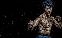 Typography Artwork | Bruce Lee Typography Art HD Wallpaper in Desktop ...