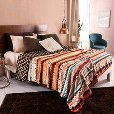 Tribal Bedroom, Soft Blankets, Comforters, Comfy, Warm, Modern, Inspiration, Furniture, Design