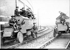 Click image for larger version. Name: Views: 6 Size: KB ID: 47059 Ireland 1916, Railway Gun, Rail Car, World War One, Panzer, Historical Pictures, Armored Vehicles, War Machine, Military History