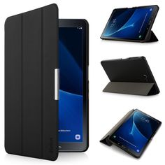 b6144758371 Stand Case for Samsung Galaxy Tab A 10.1, SM T580N T585N, iHarbort PU Leather  Case smart Cover with Multi Angles holder Stand -in Tablets & e-Books Case  ...