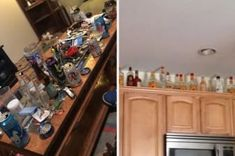 "23 Pictures That Absolutely Scream (And Smell) ""Post-College Straight Dude's Apartment"" Sticky Games, Cheer Base, Empty Liquor Bottles, Fun Drinking Games, Men Apartment, Dinners To Make, Garbage Can, Tile Coasters, Sweets"