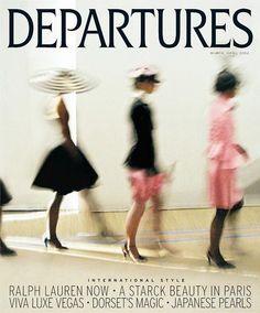 Departures 2008 March-April backstage in Ralph Lauren