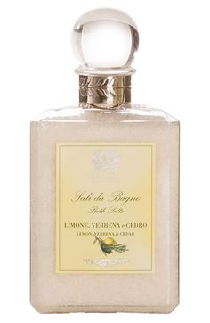 'Lemon, Verbena & Cedar' Bath Salts