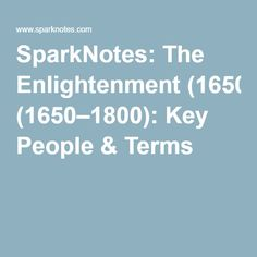 enlightenment essays
