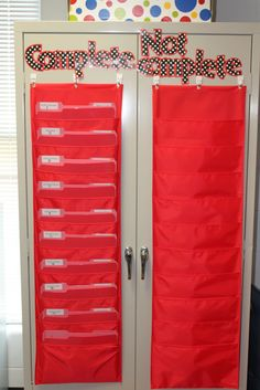 Keeping track of work for students without desks...may be easier than binders?