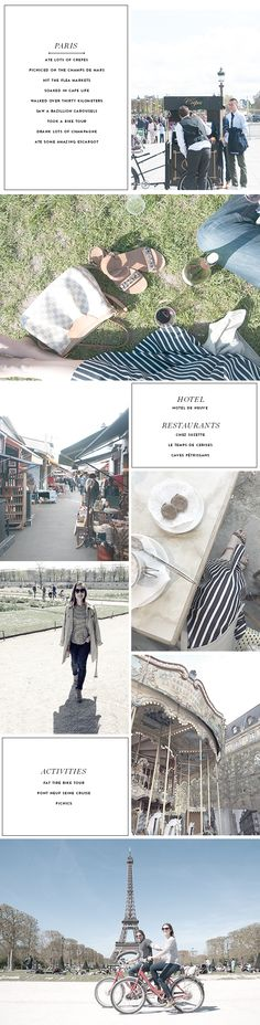 What to do in Paris in 3 Days - The Recap - Earnest Home co.