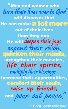 He Can Make More Out of Your Life Than You Can #LDS quotes #calledtoserve  PreparetoServe.com
