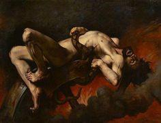 Título: Ixión en el infierno Autor: Élie Delaunay   Ixión cometió el error de…