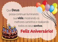 Mensagens de aniversário: Um parabéns muito especial é o que te desejo para o dia de hoje. Espero que você tenha um aniversário e uma vida inteira repleta de felicidades, alegria, p