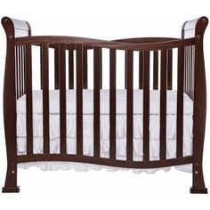 DaVinci Kalani 2 in 1 Convertible Mini Crib White