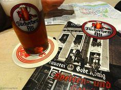 This is my favorite dark beer. Altbier in the Altstad (old beef in the oldtown) - Dusseldorf, Germany