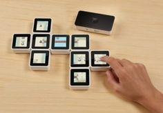 Interaction design: Cubes