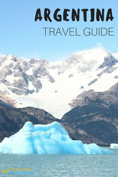 Best travel destinations in Argentina including tips for visiting Iguazu Falls, Patagonia & Buenos Aires + practical tips on airports, visas, safety and getting around. Travel in South America. | Everything Everywhere Destination Guide