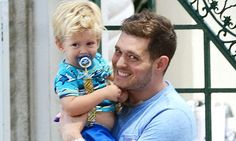 Michael buble s son admitted to hospital with burns