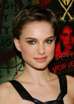 Celebrity Pixie Haircut Photo Gallery - Pixie Haircuts - Natalie Portman Pixie Haircut