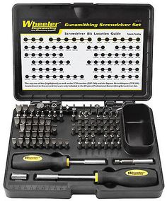 Smithing Equipment 73962: No Tax! Wheeler 89-Piece Deluxe Gunsmithing Screwdriver Set New Fast Ship! -> BUY IT NOW ONLY: $79.99 on eBay!