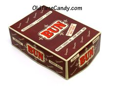 Vanilla Bun candy box- My grandpa used to have a box of candy bars, they were Bun Candy Bars and we got to pick one out.  Happy Memories.