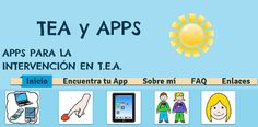 Novedad en Aulautista: TEA y APPS | Aulautista Autism Apps, Autism Quotes, Aspergers, Special Education, Psychology, Teacher, Games, Blog, Kids