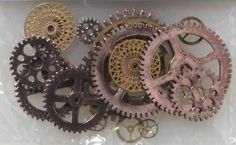 Amazon.com: Bag of Gears - Steampunk Costume Decoration Accessory: Everything Else