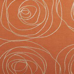 Duralee Eileen Kathryn Boyd: Margeaux In Sundance  15397 - 346 Orange Fabric 30% OFF everyday low price!