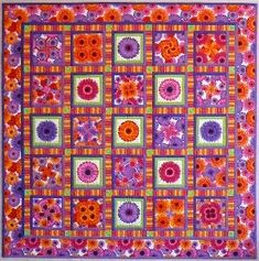 LOVE the bright colours and the fabric used, what a perfect combination!
