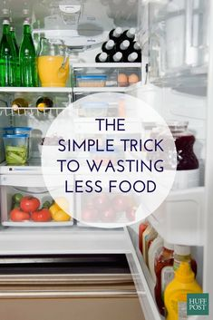 Use this simple trick when unpacking your groceries to waste less food Super Simple, Make It Simple, Detox Your Home, Food Waste, Food N, Nutrition Information, Healthy Eating Tips, Frugal Living, Organization Hacks