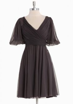"""This reminds me of the dress Liesl wore singing """"I Am 16 Going On 17""""on The Sound of Music. Just in a darker color."""
